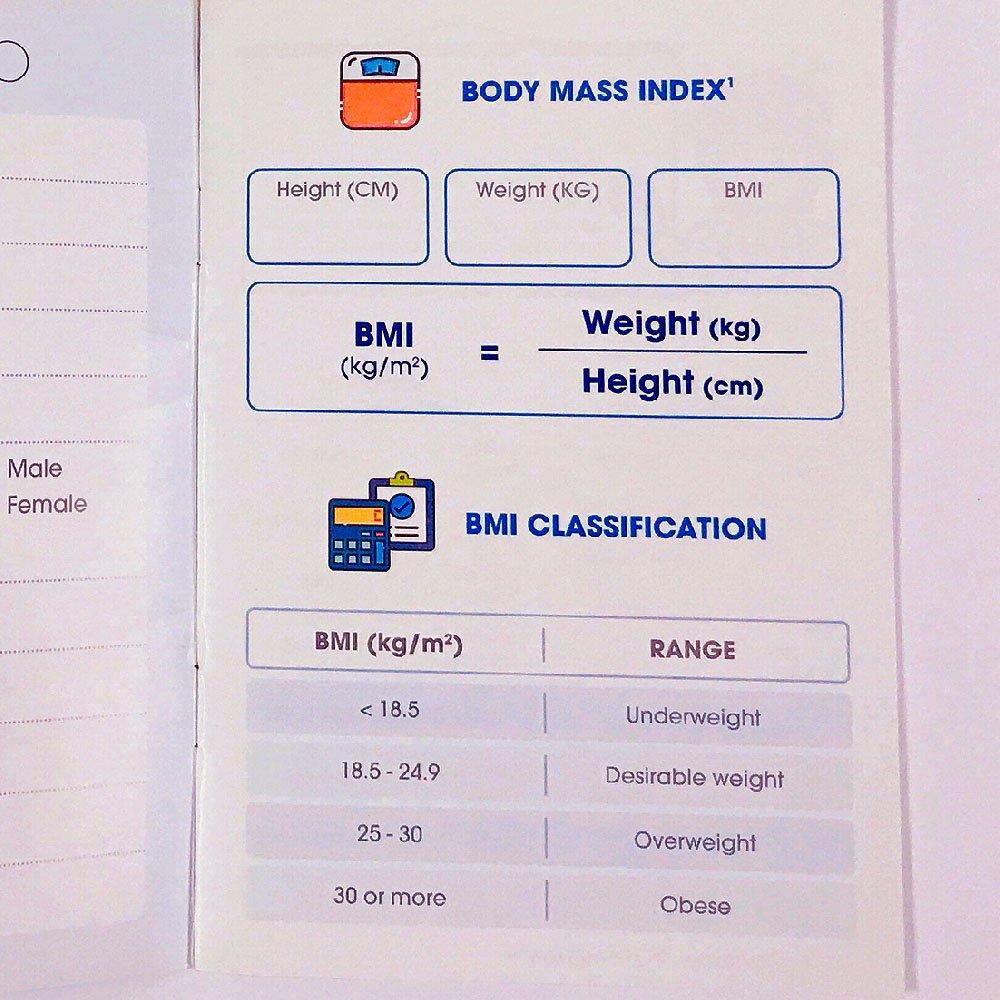 calcolo dell'indice di massa corporea o BMI