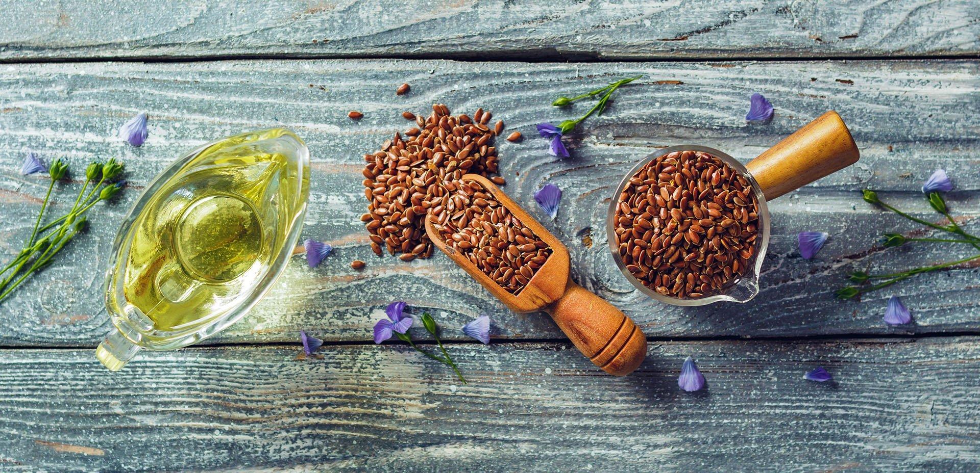 semi e olio di lino