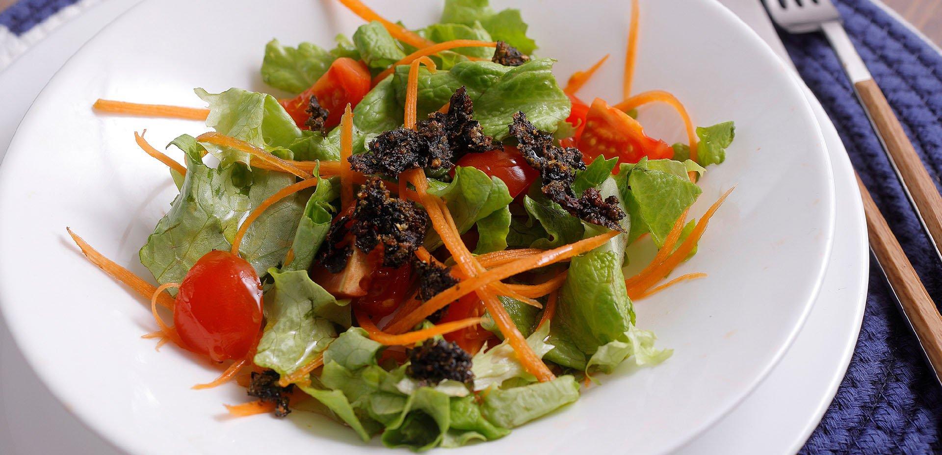insalata e alghe