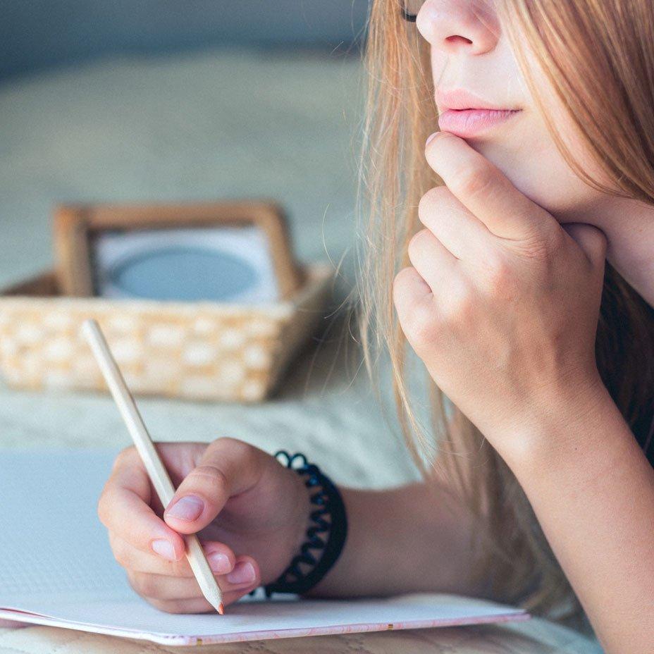 scrivere nel proprio diario