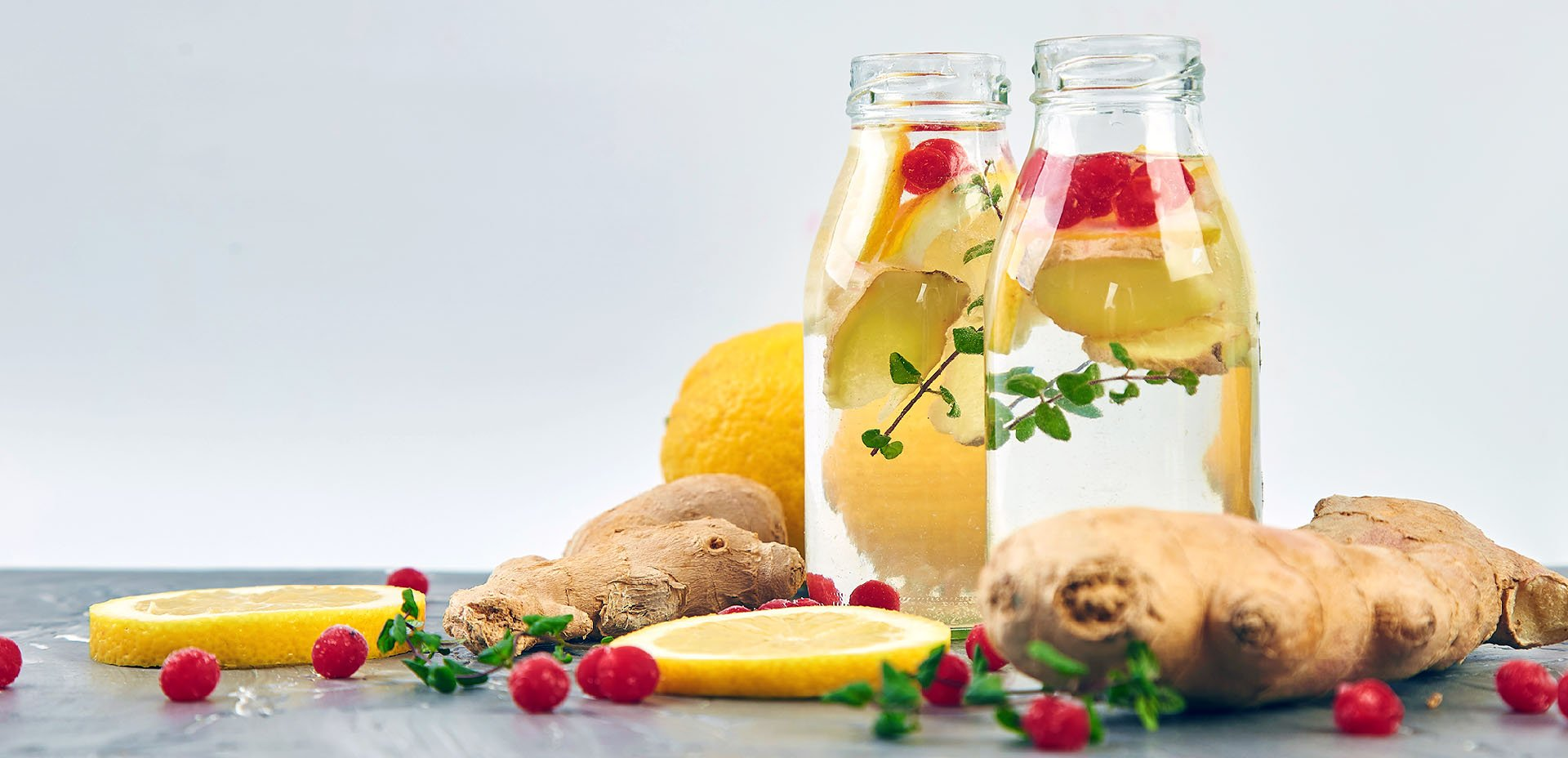 acqua allo zenzero e limone