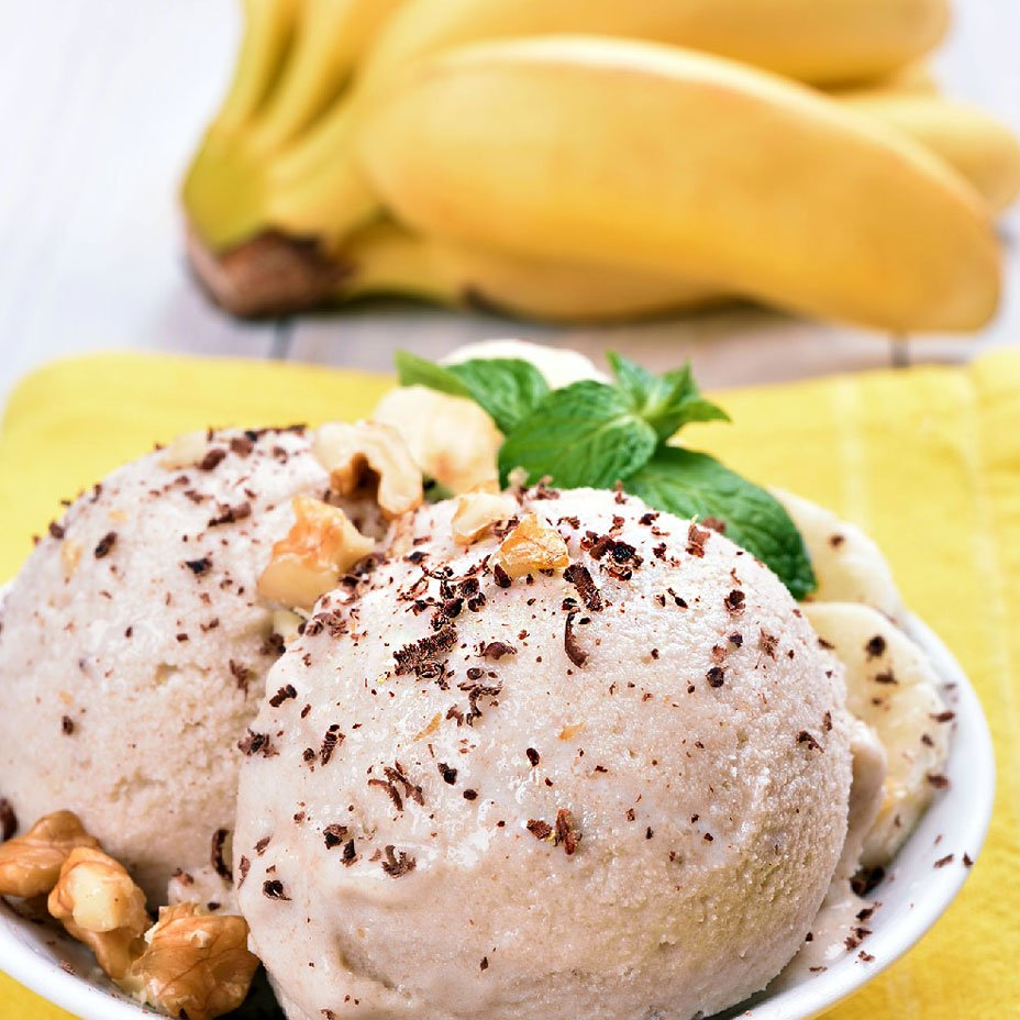 gelato di banana