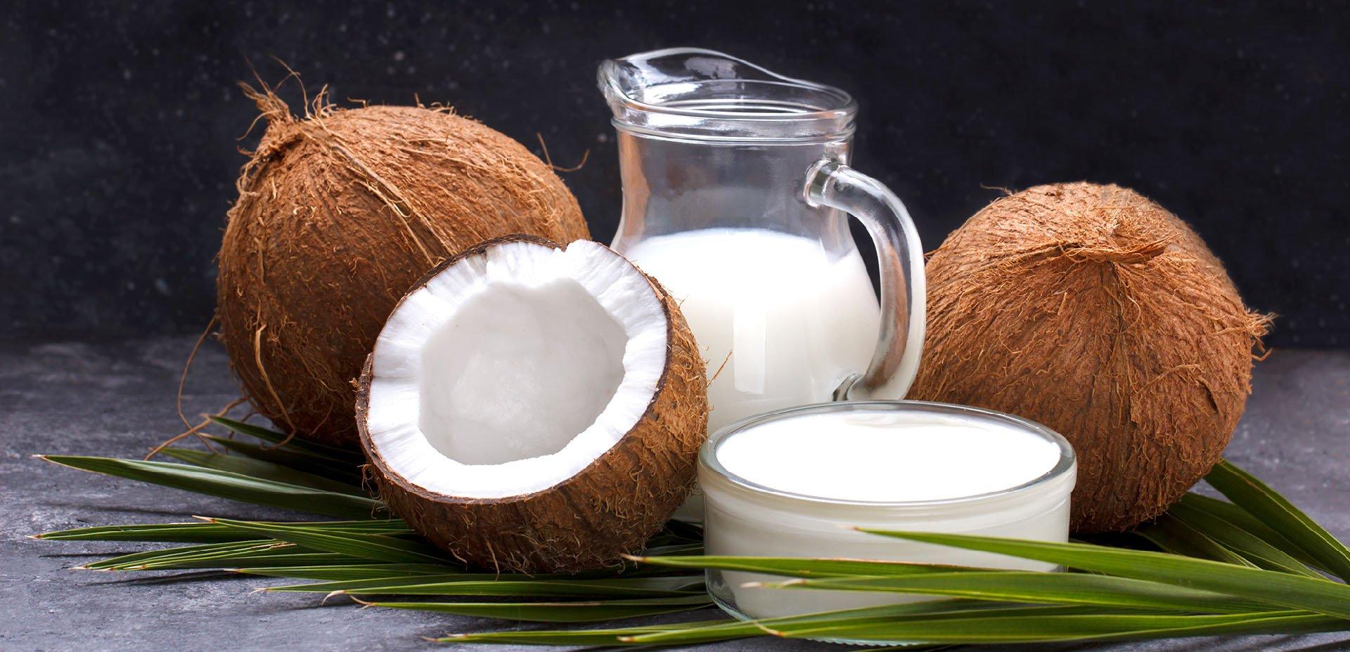 cocco e latte di cocco