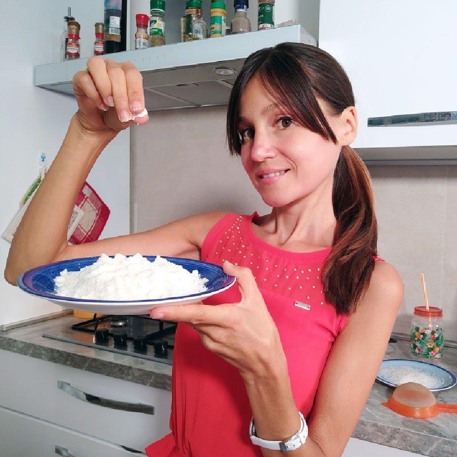 Isabella Vendrame e farina di cocco