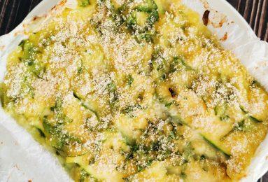 lasagna di zucchine e rucola